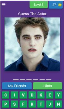 Guess the Actors from Twilight poster