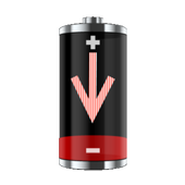 Fake Low Battery icon