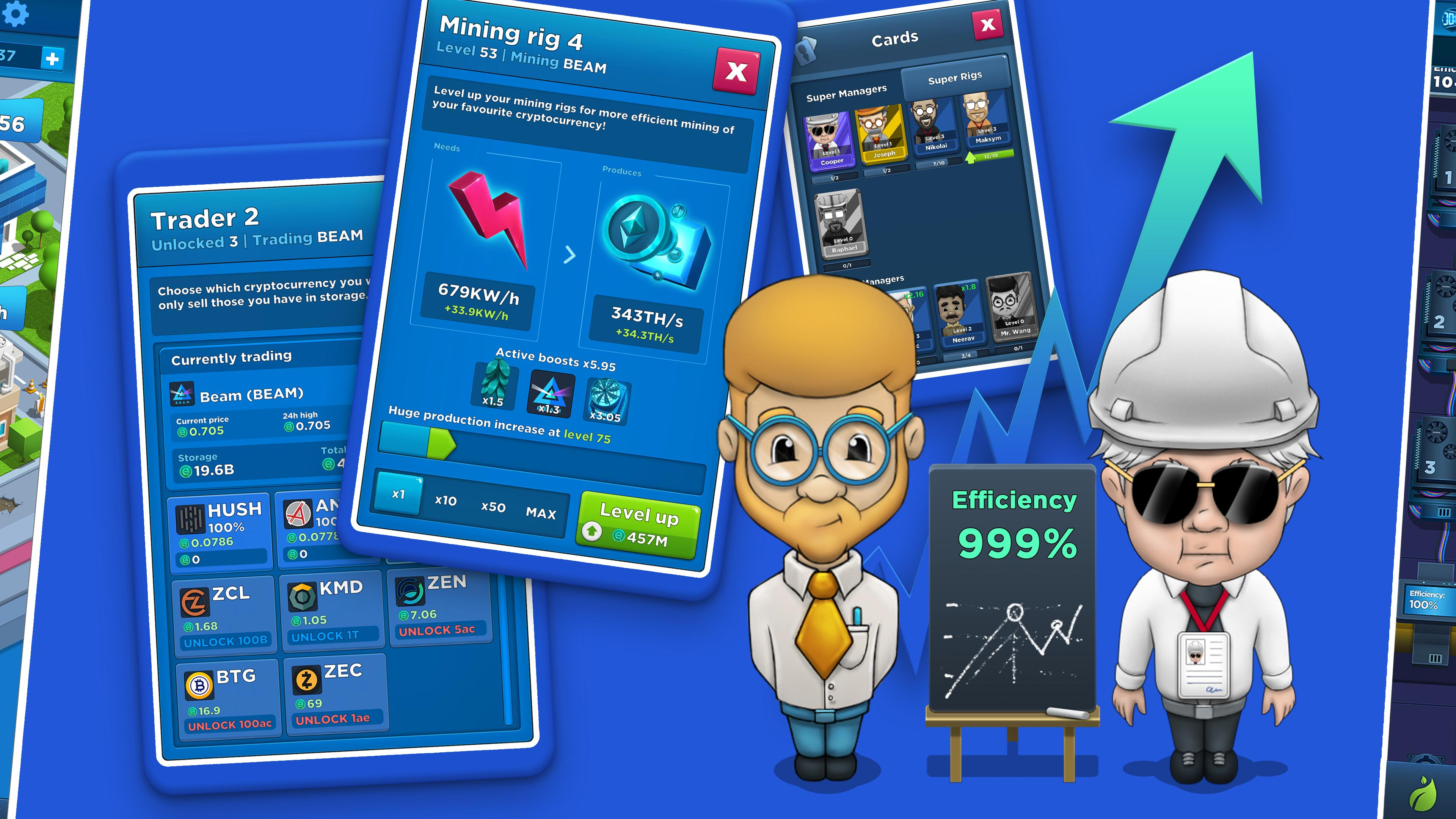 Crypto Idle Miner - Bitcoin Tycoon for Android - APK Download