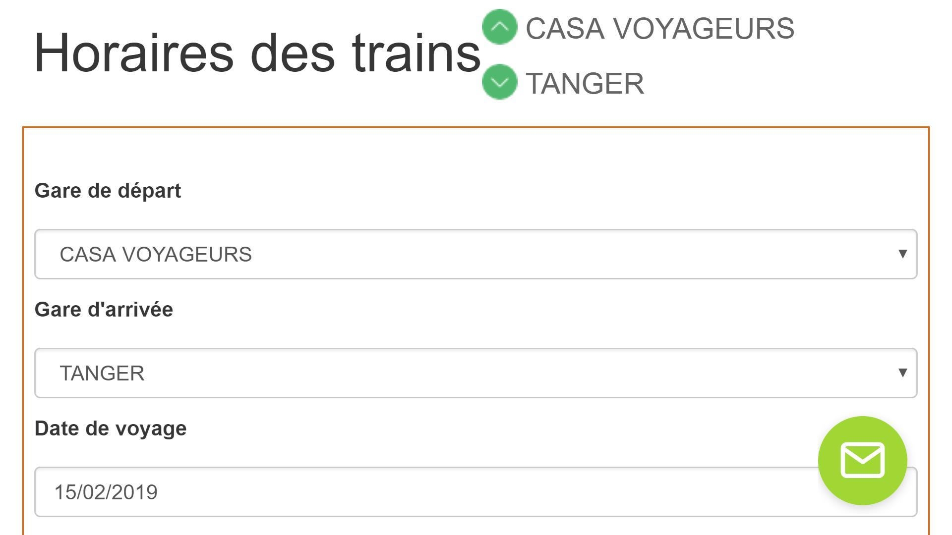 TRAIN ONCF HORAIRE GRATUITEMENT TÉLÉCHARGER