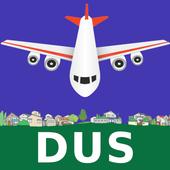 FLIGHTS Dusseldorf Airport icon