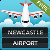 FLIGHTS Newcastle Airport icon