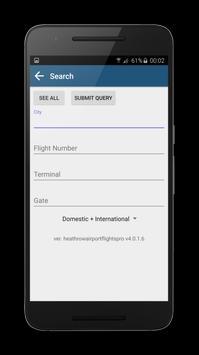 FLIGHTS Newcastle Airport screenshot 4