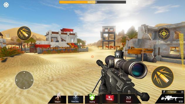 Sniper Game: Bullet Strike - Free Shooting Game screenshot 1