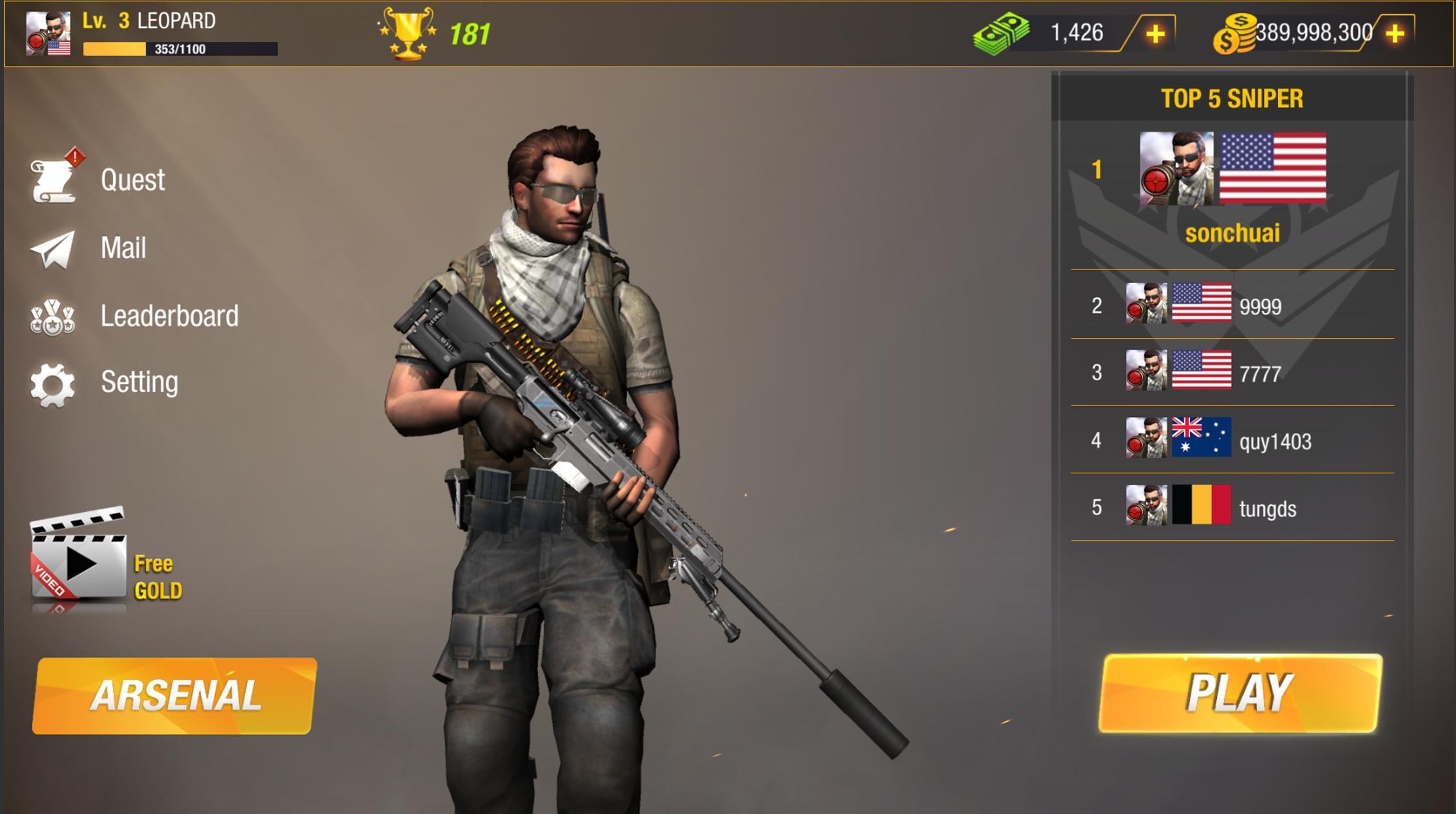 9999 Gun Games