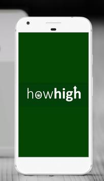 howhigh poster