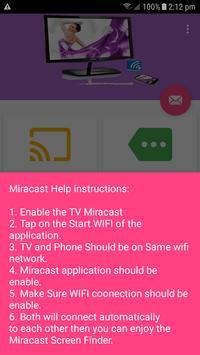Miracast Screen Finder screenshot 2