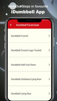 iMDumbbell Exercise Home Workout screenshot 2