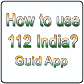 Guid for 112 India app icon