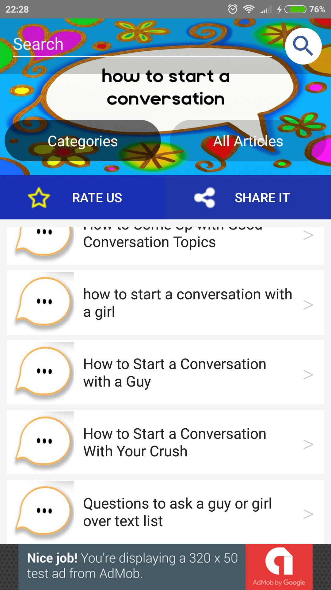 With to good crush your have conversations 55 Things