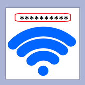 How to change wifi password icon