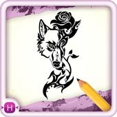 Draw Tattoo icon