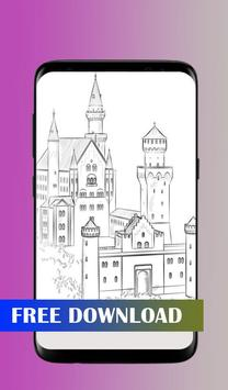 How to draw a castle screenshot 1