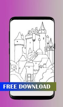 How to draw a castle screenshot 2
