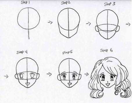 How To Draw Anime Step by Step For Beginners screenshot 3