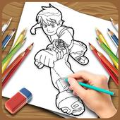 How to Draw Ben Ten icon