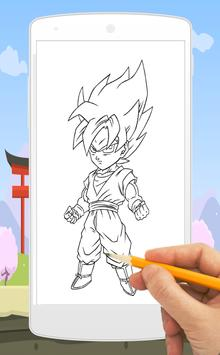 How To Draw Goku poster
