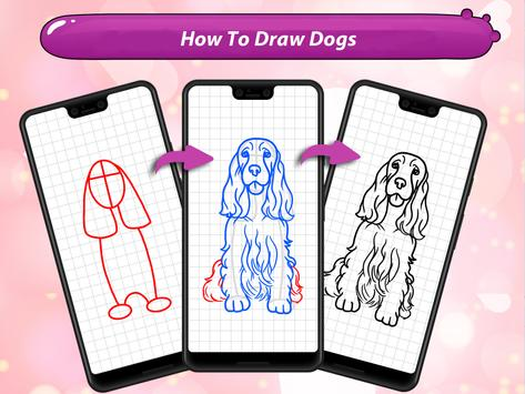 How to Draw Dogs screenshot 5