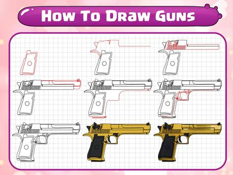 How To Draw Guns poster