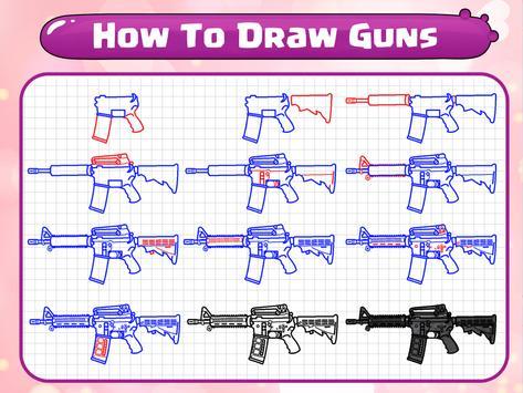 How To Draw Guns screenshot 18
