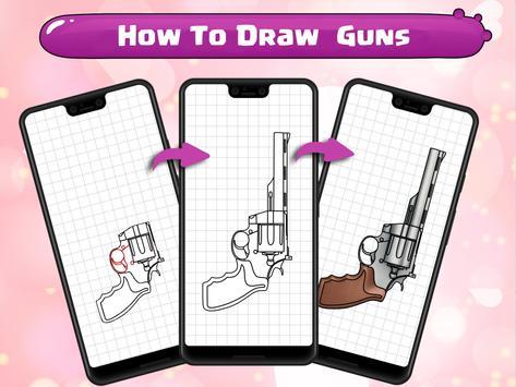 How To Draw Guns screenshot 12