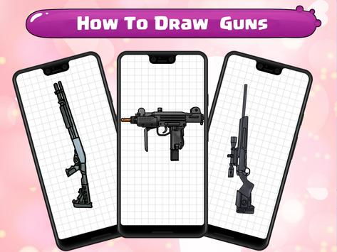 How To Draw Guns screenshot 5