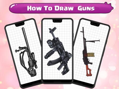 How To Draw Guns screenshot 6