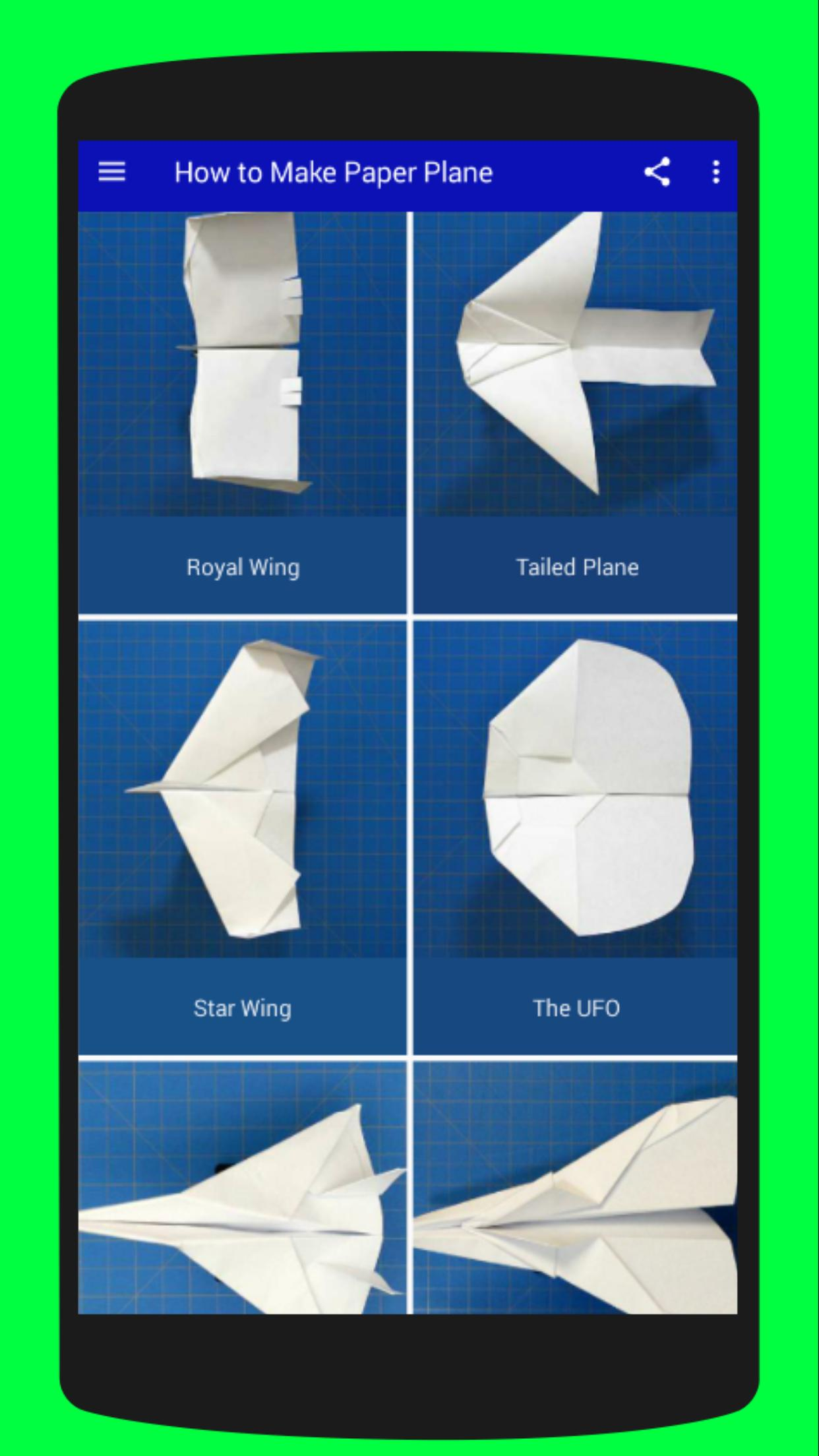 Easy Paper Airplane Folding Tutorials For Android Apk