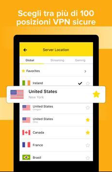 8 Schermata VPN Gratis Veloce Sicuro - Scudo Hotspot Privacy!