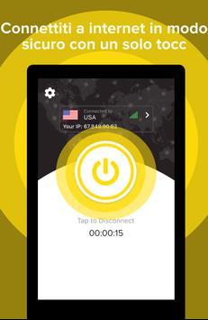 12 Schermata VPN Gratis Veloce Sicuro - Scudo Hotspot Privacy!