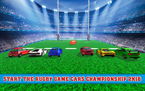Rugby Car Championship - Pro Rugby Stars Leagues poster