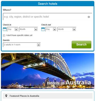 Sydney Hotels poster