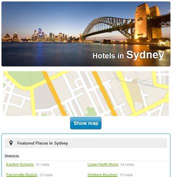 Sydney Hotels screenshot 2