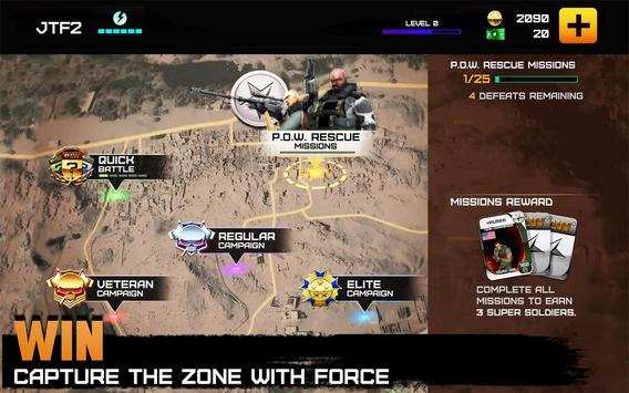 Rivals at War: Firefight स्क्रीनशॉट 1