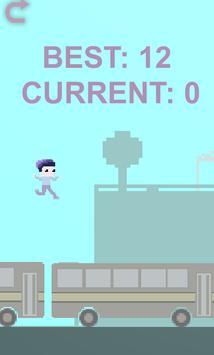 BusHour - Bus Jumping Game screenshot 1