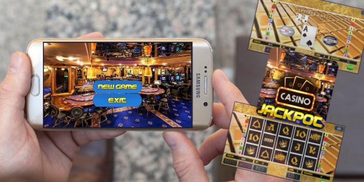 CASINO JACKPOT SLOTS : Mega Casino Slot Machine poster