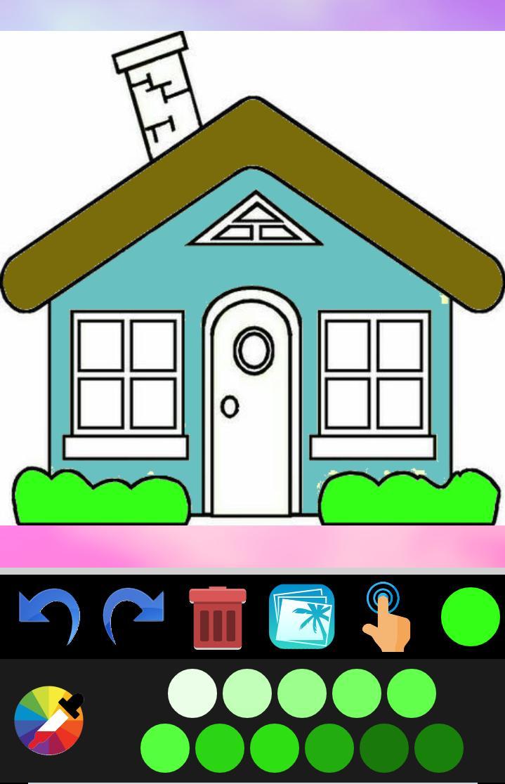 Buku Mewarnai Rumah For Android APK Download