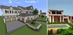 350 Modern House for Minecraft