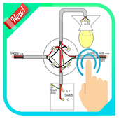House Wiring Electrical Diagram icon