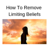 How to remove limiting beliefs icon