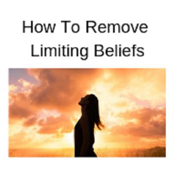 How to remove limiting beliefs poster
