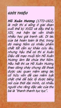 Thơ Hồ Xuân Hương poster