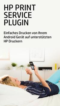 HP Druckdienst-Plug-In Plakat