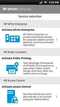 HP EPRINT ENTERPRISE FOR GOOD ポスター