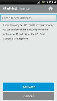 HP EPRINT ENTERPRISE FOR GOOD スクリーンショット 1