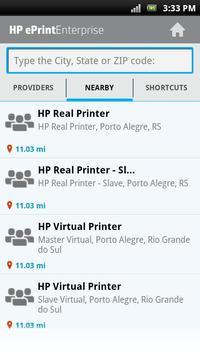 HP EPRINT ENTERPRISE FOR GOOD スクリーンショット 7