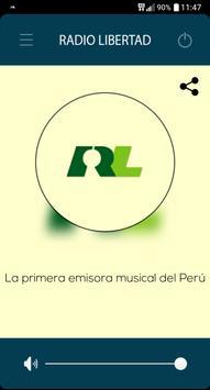 Radio libertad lima poster