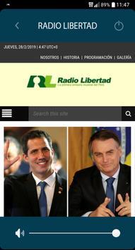 Radio libertad lima screenshot 1