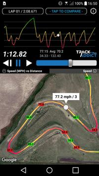 TrackAddict screenshot 2