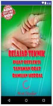 Pijat Refleksi,Tanaman Obat dan Pengobatan Herbal poster